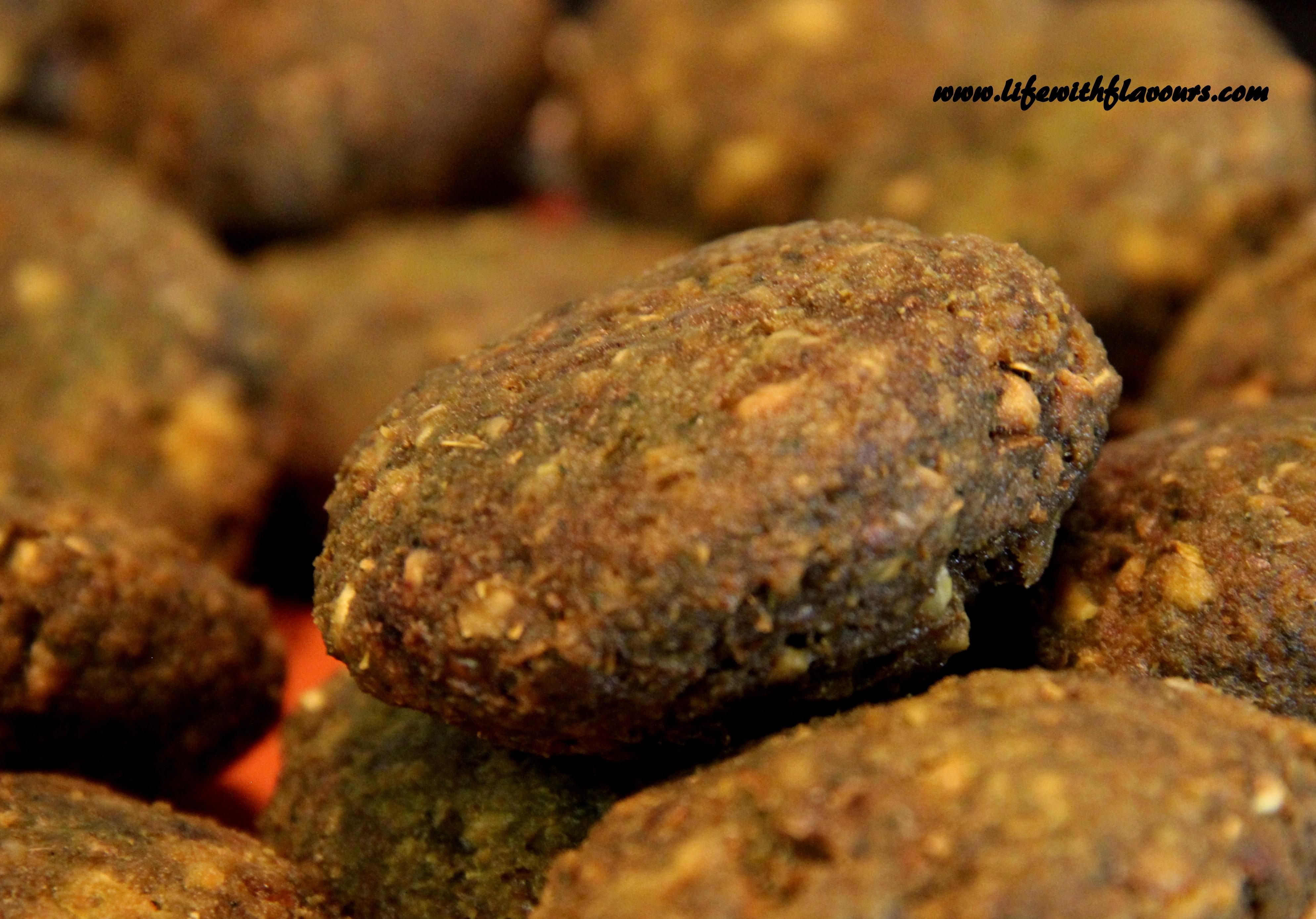 how to make falafel balls
