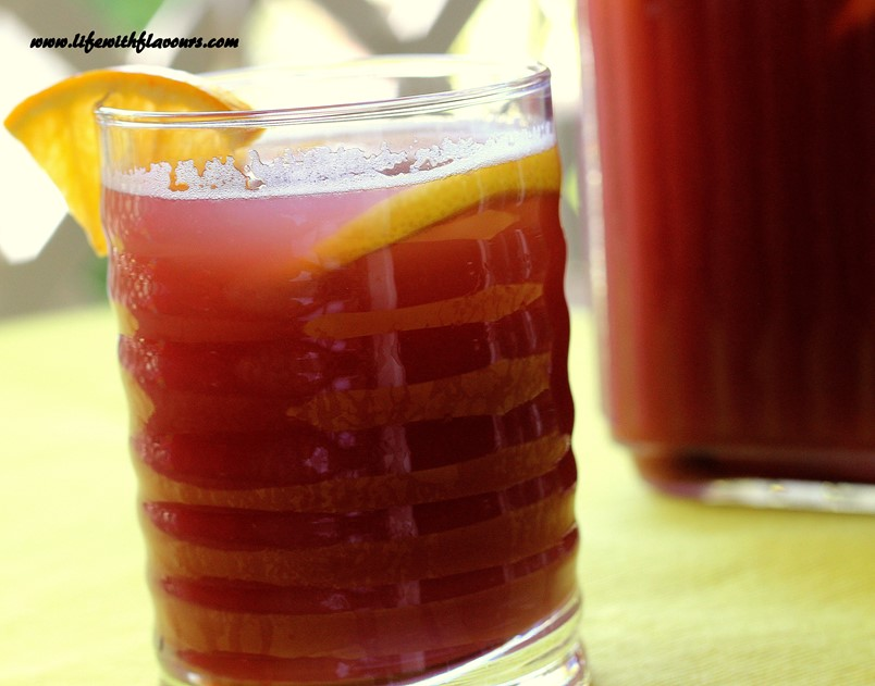 how to make non alcoholic sangria